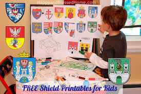 preschool activities with castles catapults and free shield