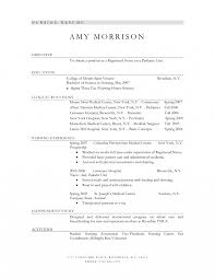 college student resume sle objective lpn lpn nurse sle resume lead test engineer cover letter