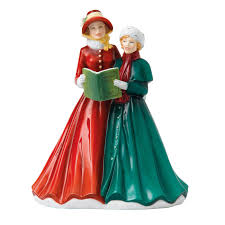 o town of bethlehem carol singer figurine by royal doulton
