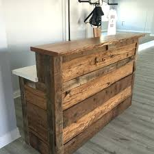 diy reception desk enchanting vintage salon reception desk best vintage salon ideas on easy diy reception diy reception desk