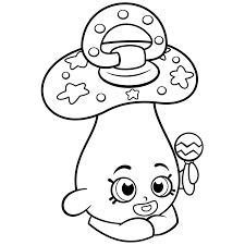 baby peacekeepr coloring page shopkins coloring pages