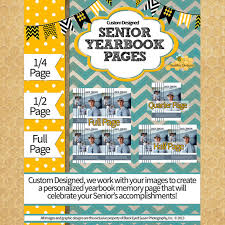 create yearbook custom designed senior yearbook ad page 1 2 by suzibeedesigns