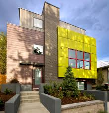 impressive eco friendly home design with recyclable 3d wall panels