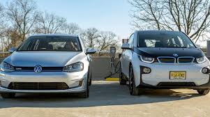 bmw electric car bmw and volkswagen team up with chargepoint to expand electric car