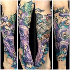 tattoo pictures color color tattoo on leg by joe matisa design of tattoosdesign of tattoos