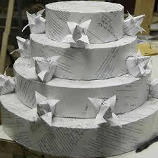 Origami Wedding Cake - grooms cake divorce cakes delish