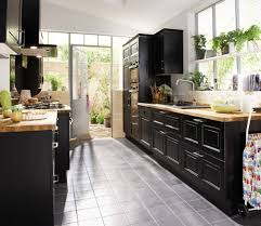 journal des femmes cuisines cuisine bistro noir par lapeyre cuisine rustique et si on la