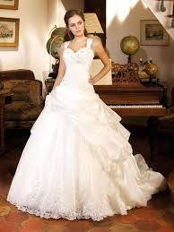 sleeveless strap sweetheart pleated beaded ball gown wedding dress