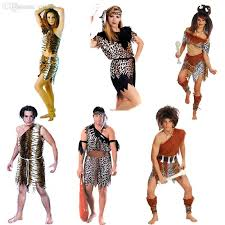 wholesale fun halloween costume men women cosplay costume native