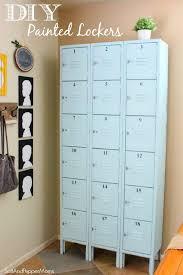 diy kids lockers best 25 lockers ideas on mudroom cubbies wood