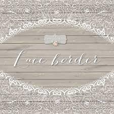 Vintage Lace Wedding Invitations Lace Border Rustic Rustic Wedding Wedding Invitation Border