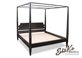 Black King Platform Bed Shaka Studios Custom Furniture Testimonial Black King Size Four