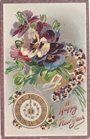 new year s postcards 105 best antique postcards new year images on