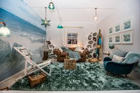 Live Room Set Inspired By The Homes By The Sea Tv Show This Interior Room Set