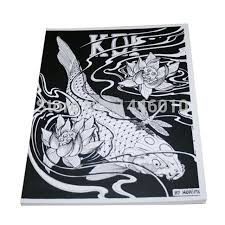 2016 fashion design book 50 japanese koi designs by
