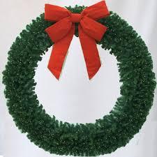 lighted christmas wreath 8 foot led lighted christmas wreath artificialchristmaswreaths