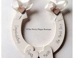 lucky horseshoe gifts wedding horseshoe etsy