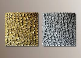 wall ideas textured wall art canvas set of 2 large wall