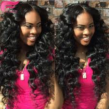 sew in wet and wavy 16in 7a bohemian wave virgin hair loose wave mocha hair wet and wavy