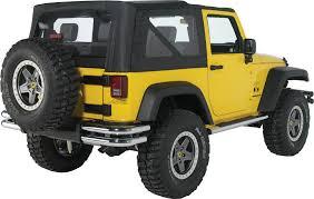mopar jeep renegade mopar 82209913 tubular rear bumper in chrome for 07 17 jeep