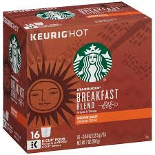starbucks k cup breakfast blend coffee 16ct walmart