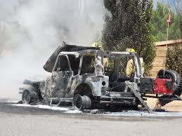 jeep utah sad day for jeep owner as fire torches rig u2013 st george news