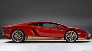 2016 Lamborghini Aventador - 2016 lamborghini aventador miura homage special edition side
