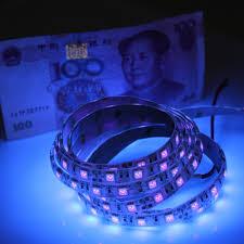 blue led strip lights 12v 12v uv ultraviolet 395 405nm led strip black light 5050 3528 smd
