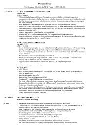 resume template financial accountants definition of respect financial systems manager resume sles velvet jobs