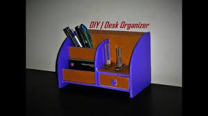 Stylish Desk Organizers by Diy Desk Organizer Made With Cardboard Room Decor Idea