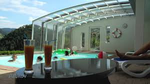 pool enclosure swim in any weather youtube