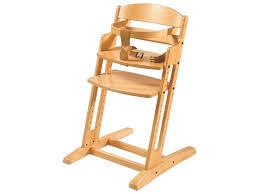 chaise haute chaise haute évolutive en bois wesco pro