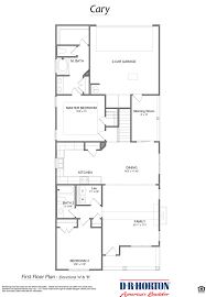 Car Plan View The Cary Lake Forest Huntsville Alabama D R Horton