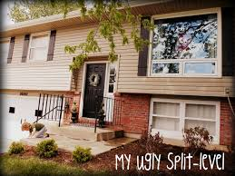 tri level home designs my ugly split level diy shutters for the home pinterest diy