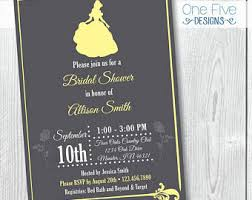 and the beast wedding invitations and the beast bridal shower invitations etsy