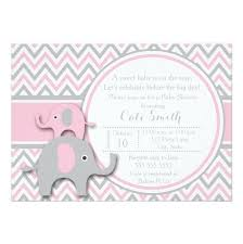 pink and grey elephant baby shower fascinating pink and grey elephant baby shower invitations to