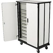 Laptop Storage Cabinet Balt Mobile Locking Multi Unit Laptop Charging Station Facs