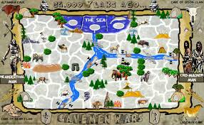 Map Of Europe Game by Cavemen Wars Map