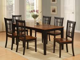 kitchen kitchen dining sets table setting black round dining