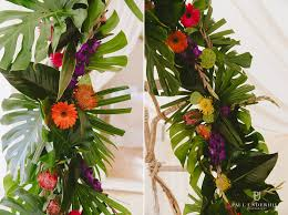 tropical themed wedding bournemouth tropical themed wedding kate david paul