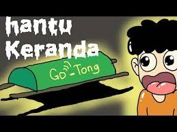 film kartun anak online kartun lucu hantu ojek online animasi hantu animasi