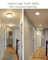 flush mount led can lights great best 25 recessed light ideas on pinterest lighting with regard