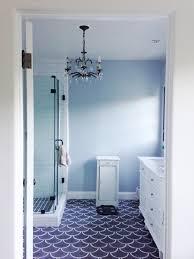 decorative subway tile bathroom designs image of blue glass idolza