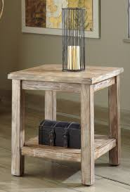 Chair Side Tables With Storage Awesome Modern End Table For Living Room Brown Rustic Wood Drawer