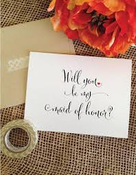 Will You Be My Maid Of Honor Gift Heart Will You Be My Maid Of Honor Card Asking Maid Of Honor Gift