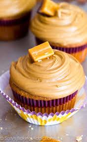 salted triple caramel cupcakes sallys baking addiction