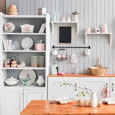 tips for organizing open kitchen shelves family handyman