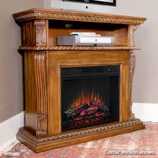 Corner Electric Fireplace Corinth 23