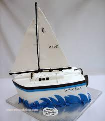 sailboat cake topper baby shower sailboat cake custom baby shower cakes