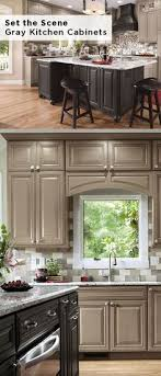 best 20 red kitchen cabinets ideas on pinterest taupe kitchen cabinets love the dark stain color on the island use